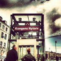 Photo taken at Kongens Nytorv by Pedro P. on 7/20/2012