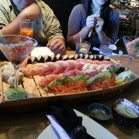 Photo taken at Tee Jay Thai Sushi by Saris C. on 9/9/2012