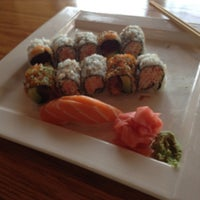 Photo taken at Azuma Sushi by Megan L. on 3/23/2012