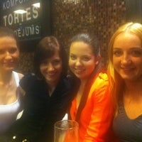 Photo taken at Laima Cafe by Laura A. on 3/10/2012