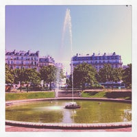 Photo taken at Place d'Italie by Baaadgos on 8/12/2012