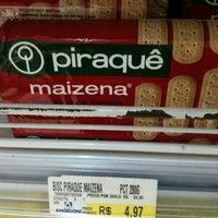 Photo taken at Supermercado Angeloni by Sirlania P. on 5/19/2012