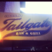 Photo taken at Christian's Tailgate Bar & Grill by Derek on 6/8/2012
