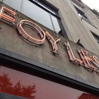 Photo taken at Foyles by Tom K. on 6/10/2012