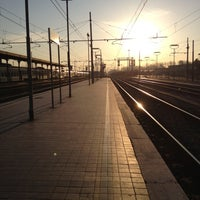Photo taken at Stazione Lucca by Elisa C. on 3/12/2012