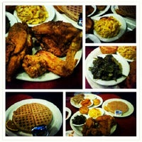 Photo taken at Gladys Knight's Signature Chicken & Waffles by Neil A. on 6/16/2012