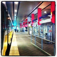 Photo taken at Convention Center Station (DART Rail) by Sheri H. on 3/9/2012