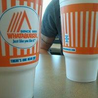 Photo taken at Whataburger by Amanda J. on 4/22/2012