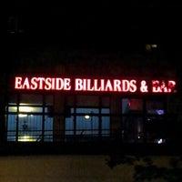Photo taken at Eastside Billiards & Bar by Armel M. on 8/30/2012