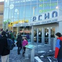 Photo taken at ECHO Lake Aquarium & Science Center by Tara M. on 2/4/2012