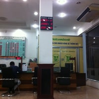 Photo taken at Vietcombank Phu Tho by Bình N. on 6/25/2012