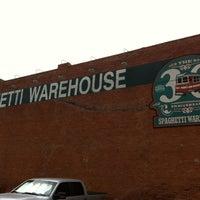 Photo taken at Spaghetti Warehouse by Ramon C. on 8/8/2012