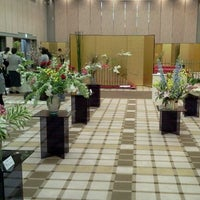 Photo taken at Osaka International House by Hana L. on 4/29/2012