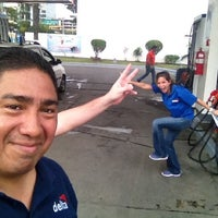 Photo taken at Estación Delta by Ricardo R. on 8/22/2012