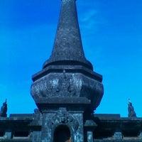 Photo taken at Monumen Puputan Klungkung by Ferri F. on 6/7/2012