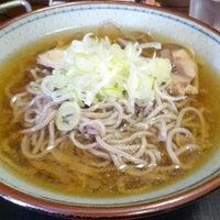 Photo taken at 冷たい肉そば専門店かほく by keizi on 8/16/2012