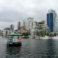 Photo taken at Aquabus Granville Island Dock by Steve T. on 8/19/2012