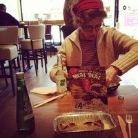 Photo taken at Mexigo Burrito Bar by Alex D. on 3/19/2012
