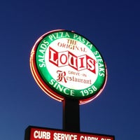 Photo taken at Louis' Original Drive-In by Bill C. on 7/29/2012