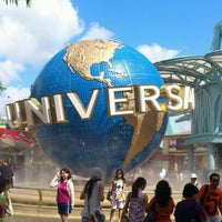 Photo taken at Universal Studios Singapore by Khrin S. on 2/10/2012