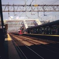 Photo taken at Stamford Transportation Center Bus/Train (STM) Metro North & Amtrak by Kerri N. on 9/5/2012