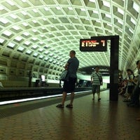 Photo taken at Pentagon City Metro Station by Franta F. on 6/10/2012