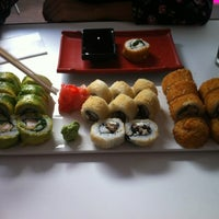 Photo taken at Niu Sushi by Javo J. on 4/17/2012