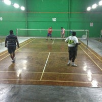 Photo taken at Dewan Badminton BCB by Dave D. on 8/25/2012