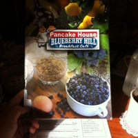 Photo taken at Blueberry Hill Breakfast Cafe by Matt K. on 8/26/2012