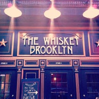 Photo taken at The Whiskey Brooklyn by Matt P. on 5/17/2012