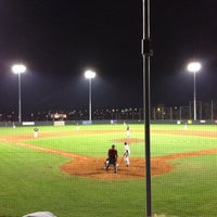 Photo taken at Mainz Athletics Ballpark by Stefan S. on 3/30/2012