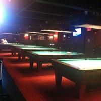 Photo taken at Society Billiards + Bar by Mandy M. on 8/4/2012