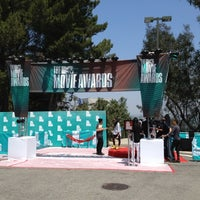 Photo taken at MTV Movie Awards Red Carpet by Michael S. on 6/3/2012