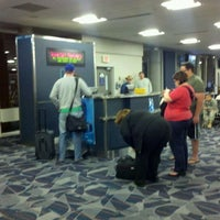 Photo taken at Concourse A - Richmond International Airport by Susan H. on 3/22/2012