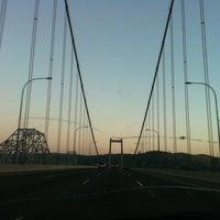Photo taken at Carquinez Bridge by Jodie on 8/16/2012