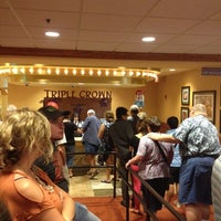 Photo taken at Triple Crown Buffet-Prairie Meadows by Andrew D. on 7/4/2012