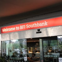 Photo taken at BFI Southbank by Alan J. on 6/27/2012