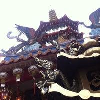 Photo taken at 诗巫永安亭大伯公庙 by Michael L. on 3/28/2012