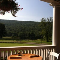 Photo taken at The Shawnee Inn and Golf Resort by Nancy L. on 8/16/2012