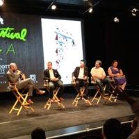 Photo taken at SVA Theatre by Ben F. on 8/11/2012