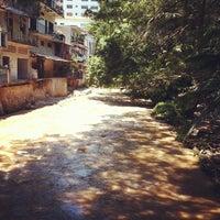 Photo taken at Rio Cuale by Alvaro B. on 8/16/2012