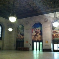 Photo taken at Detroit Public Library by Caleb James M. on 3/9/2012