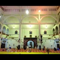 Photo taken at Masjid Al-Hasanah by Acaii J. on 8/13/2012