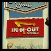 Photo taken at In-N-Out Burger by Veronica B. on 5/12/2012