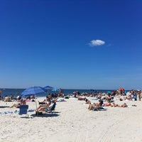 Photo taken at Point Lookout Beach (Town Park) by Dan N. on 6/16/2012