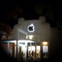 Photo taken at Apple Store, Lincoln Road by Doug G. on 3/1/2012