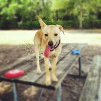 Photo taken at West Dog Park by Audrey on 4/22/2012
