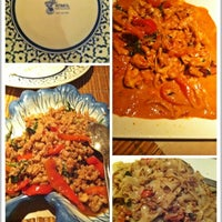 Photo taken at Komol Restaurant by Susan H. on 8/27/2012