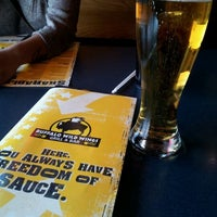 Photo taken at Buffalo Wild Wings by Brian G. on 3/5/2012
