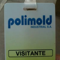 Photo taken at Polimold by Marcelo D. on 9/10/2012